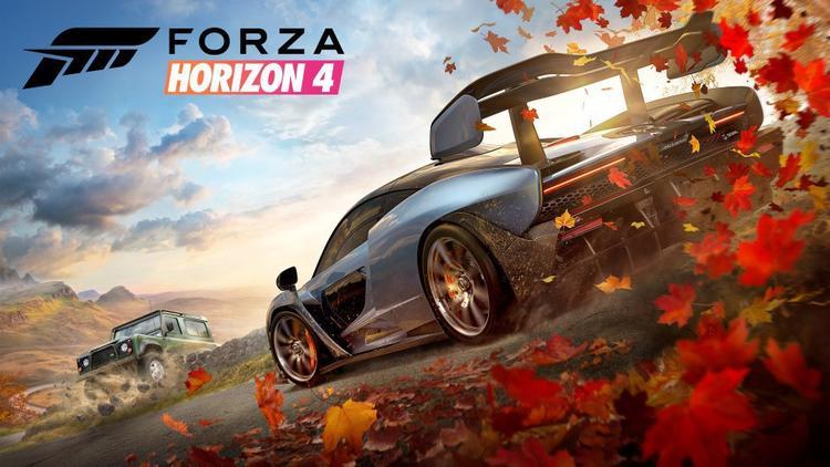 Forza Horizon 4 Oyunu Oynuyoruz