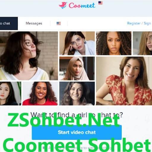 CooMeet Görüntülü Sohbet Videolu Chat Giriş